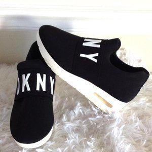 DKNY Angie Slip On Platform Wedge Sneakers